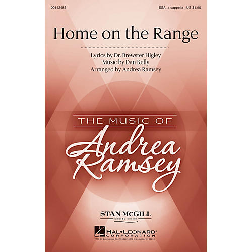 Hal Leonard Home on the Range SSA A Cappella arranged by Andrea Ramsey