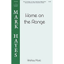 Hinshaw Music Home on the Range TTBB arranged by Mark Hayes