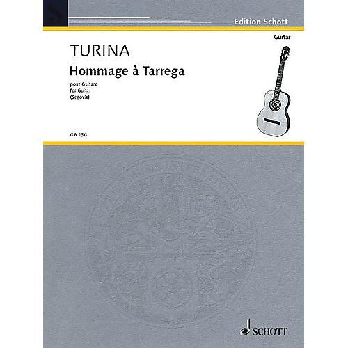 Schott Hommage à Tárrega, Op. 69 (Guitar Solo) Schott Series