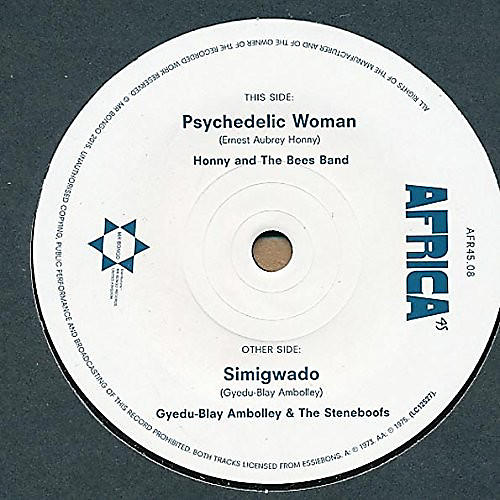 Alliance Honny & The Bees Band - Psychedelic Woman / Simigwado