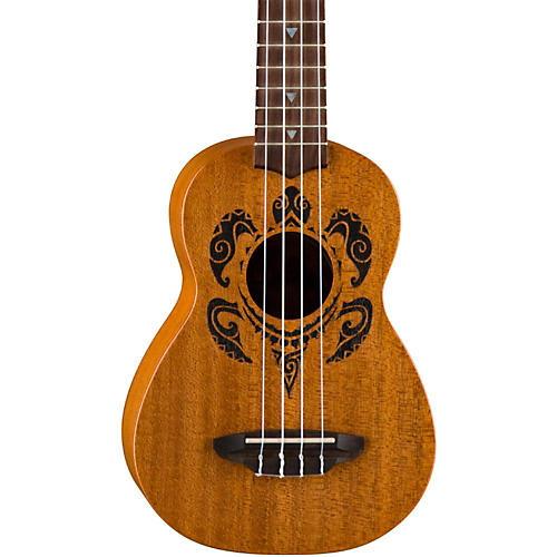 Luna Guitars Honu Soprano Ukulele Mahogany