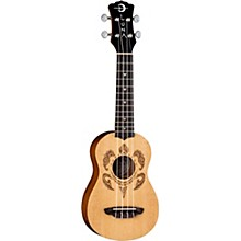 Luna Guitars Honu Turtle Spruce Soprano Ukulele