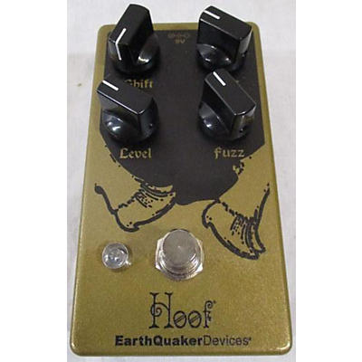 Earthquaker Devices Hoof Hybrid Fuzz Effect Pedal
