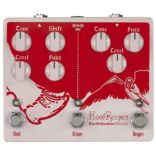 EarthQuaker Devices Hoof Reaper Octave Fuzz Spectacular Guitar Effects Pedal