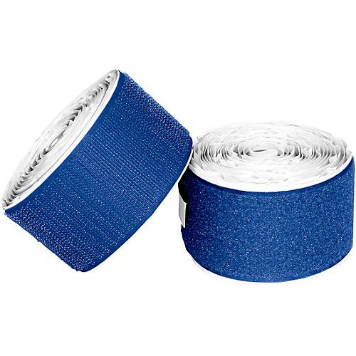 Pedaltrain Hook Loop Love Hook-and-Loop Tape Pack Bright Blue