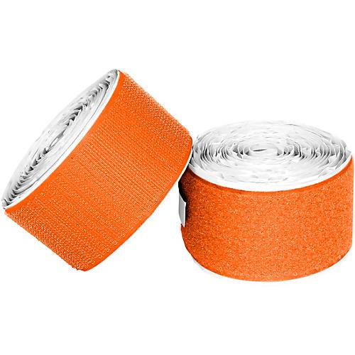 Pedaltrain Hook Loop Love Hook-and-Loop Tape Pack Bright Orange