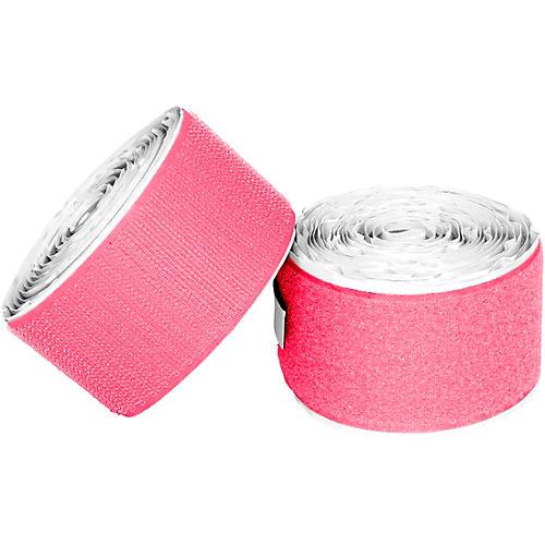 Pedaltrain Hook Loop Love Hook-and-Loop Tape Pack Bright Pink