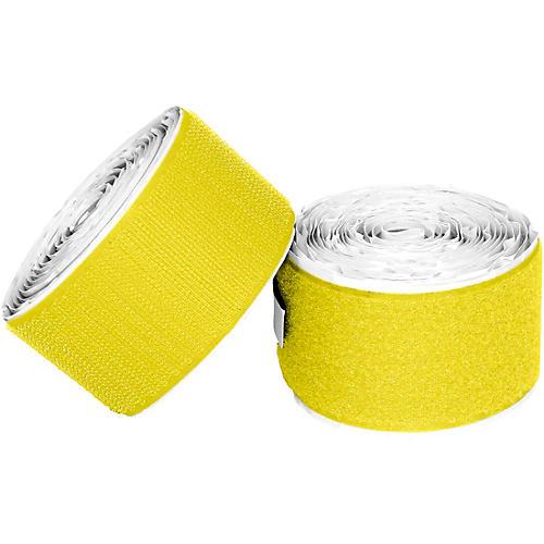 Pedaltrain Hook Loop Love Hook-and-Loop Tape Pack Bright Yellow