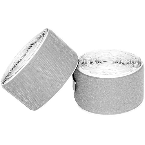Pedaltrain Hook Loop Love Hook-and-Loop Tape Pack Pale Grey