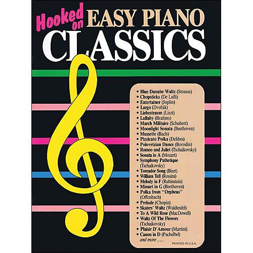 Hal Leonard Hooked On Easy Piano Classics