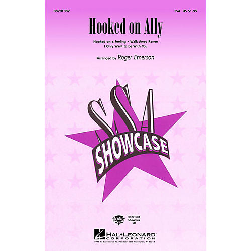 Hal Leonard Hooked on Ally (Medley) ShowTrax CD Arranged by Roger Emerson