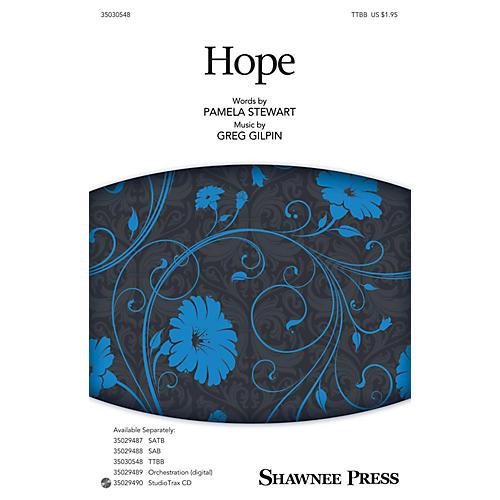 Shawnee Press Hope TTBB composed by Pamela Stewart