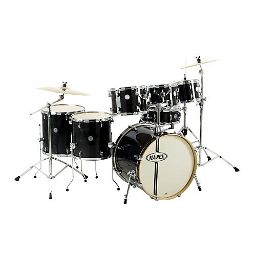 Mapex Horizon Birch Basswood Lacquer 7 Piece Drumset With Hardware