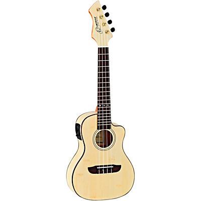 Ortega Horizon Series RUBO-CE Bamboo Concert Acoustic-Electric Ukulele