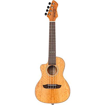 Ortega Horizon Series RUMG-CE-L Left-Handed Acoustic Electric Concert Ukulele