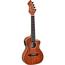 Ortega Horizon Series RUWN-CE Walnut Concert Acoustic-Electric Ukulele