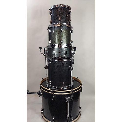 Mapex Horizon Standard Drum Kit Black Sparkle