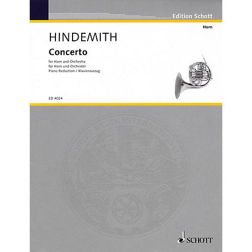 Schott Horn Concerto Schott Series