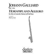 Southern Hornpipe and Allegro (Woodwind Solos & Ensemble/Alto Clarinet Music) Southern Music Series by Harry Gee