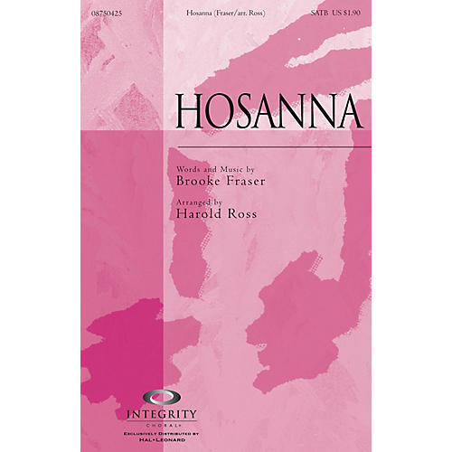 Integrity Choral Hosanna Accompaniment CD Arranged by Harold Ross