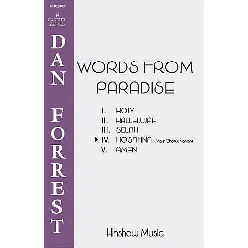 Hinshaw Music Hosanna TTBB composed by Dan Forrest