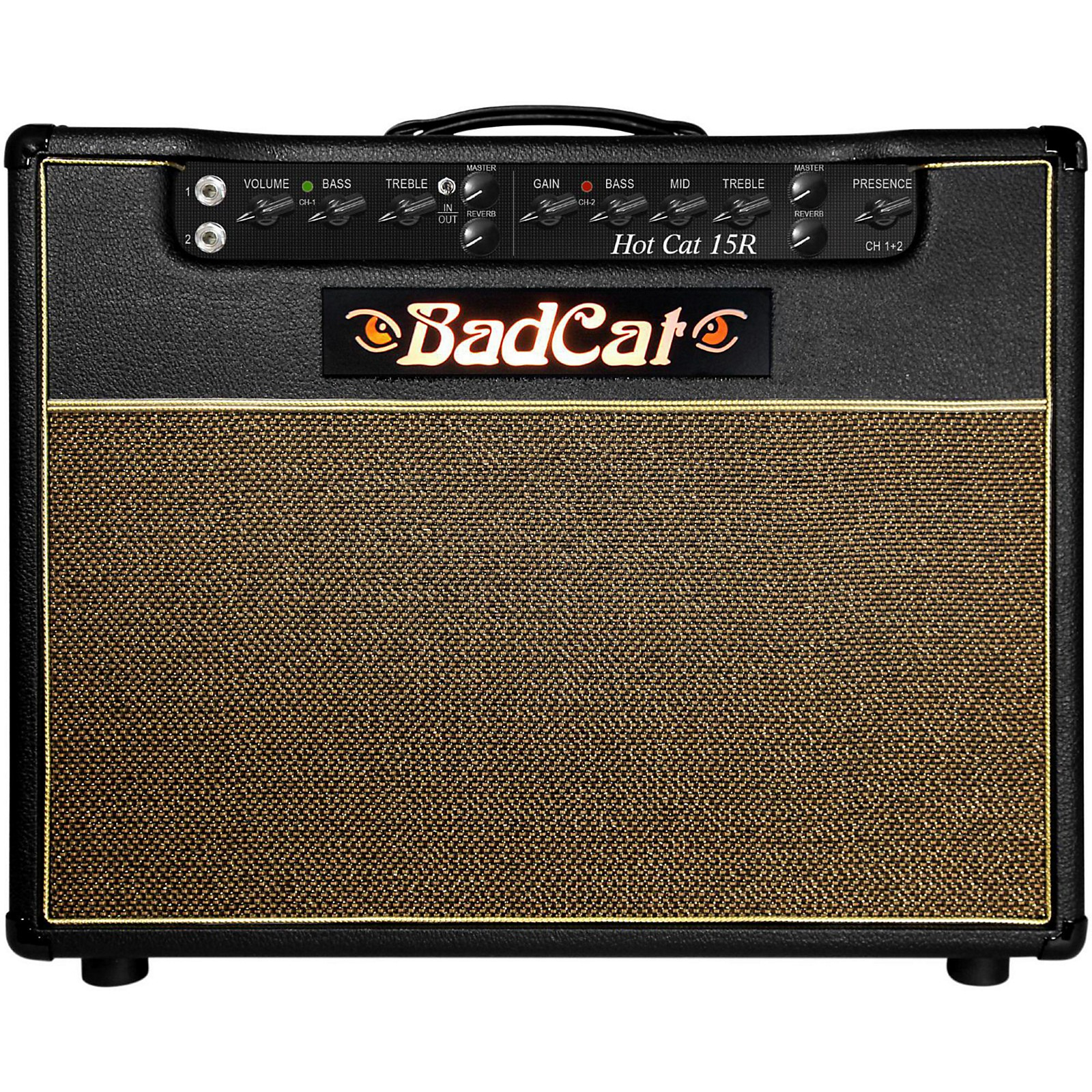 Bad Cat Hot Cat 15W 1x12 Guitar Combo Amp with Reverb