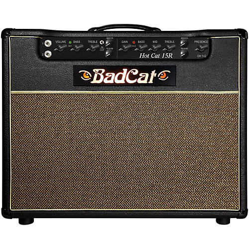 Bad Cat Hot Cat 15W 1x12 Guitar Combo Amp with Reverb Condition 1 - Mint