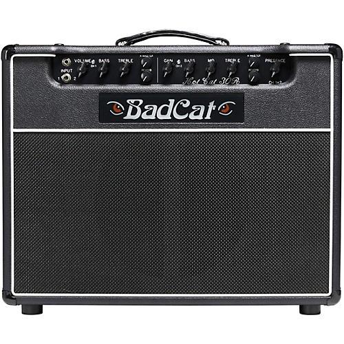 Bad Cat Hot Cat 30R 30W 1x12 Tube Guitar Combo Amp Black