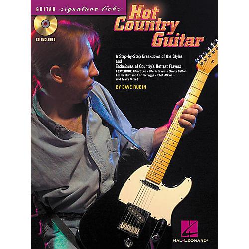 hal leonard hot country guitar book cd musician 39 s friend. Black Bedroom Furniture Sets. Home Design Ideas