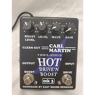 Carl Martin Hot Drive'n Boost Effect Pedal