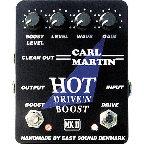 Carl Martin Hot Drive'n Boost Pedal
