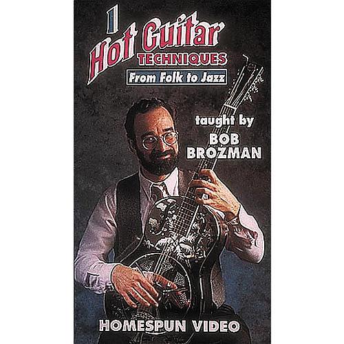 Homespun Hot Guitar Techniques 1 (VHS)