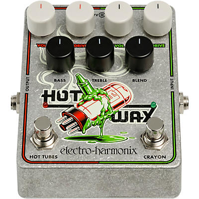 Electro-Harmonix Hot Wax Multi-Overdrive Effects Pedal