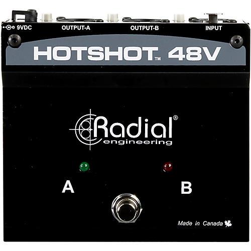 Radial Engineering HotShot 48V Condenser Microphone Switcher