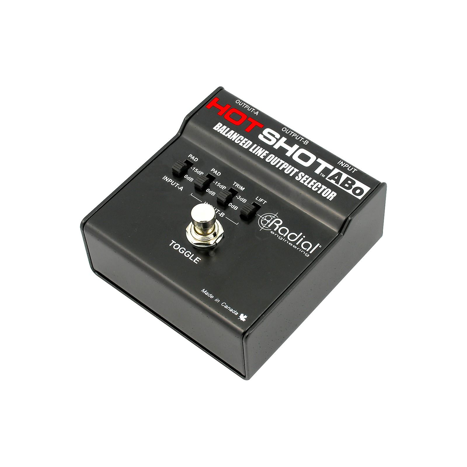 Radial Engineering HotShot ABO Line Output Selector