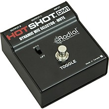 Open Box Radial Engineering HotShot DM1 Microphone Signal Muting Footswitch