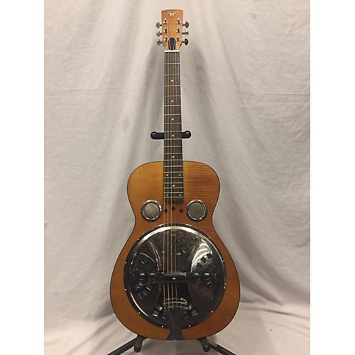 Hound Dog Round Neck Resonator Guitar