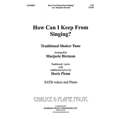 Hal Leonard How Can I Keep From Singing SATB composed by Marjorie Herman