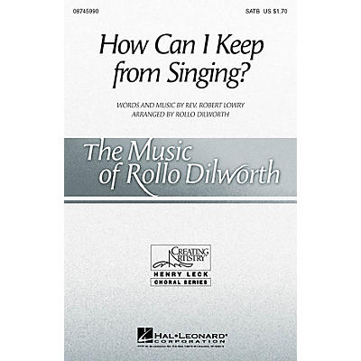 Hal Leonard How Can I Keep from Singing? SSAA Arranged by Rollo Dilworth