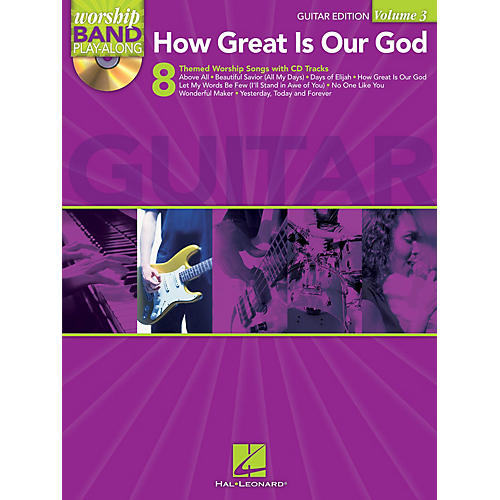 Hal Leonard How Great Is Our God - Guitar Edition Worship Band Play-Along Series Softcover with CD