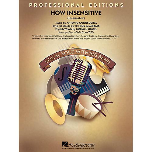 Hal Leonard How Insensitive (Insensatez) (Emi) Jazz Band Level 5 Arranged by John Clayton