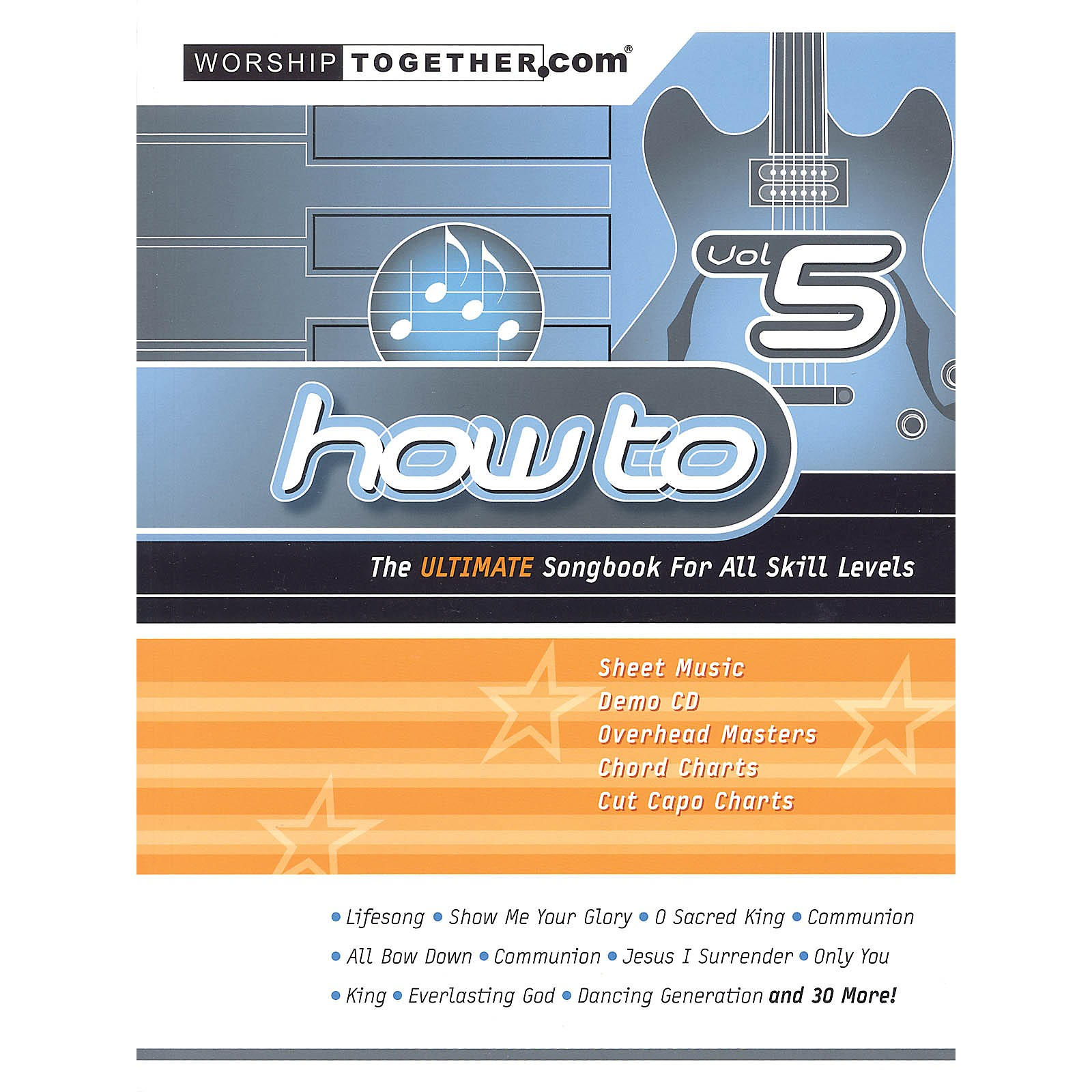 Hal Leonard How To - Vol. 5 (The Ultimate Songbook for All Skill Levels) Sacred Folio Series Softcover by Various