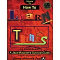 Jamey Aebersold How To Learn Tunes Play-Along Book and CD thumbnail