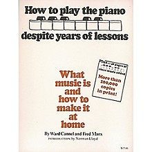 Hal Leonard How To Play Piano Despite Years of Lessons - Book