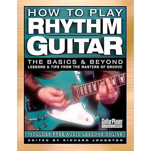 Backbeat Books How To Play Rhythm Guitar Book