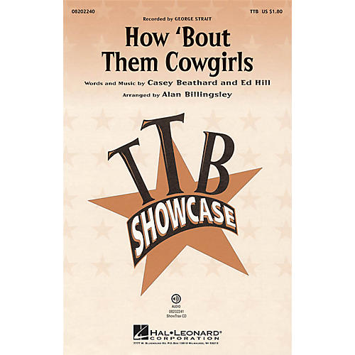 Hal Leonard How 'bout Them Cowgirls TTB arranged by Alan Billingsley