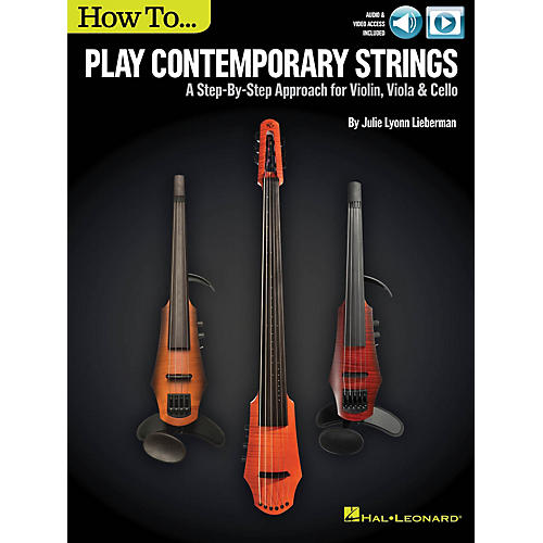 Hal Leonard How to Play Contemporary Strings Instructional Series Softcover Video Online by Julie Lyonn Lieberman