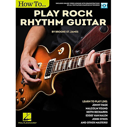 Hal Leonard How to Play Rock Rhythm Guitar - Book/Video Online