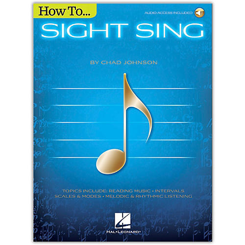 Hal Leonard How to Sight Sing Book/Audio Online