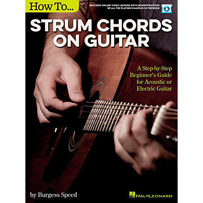 Hal Leonard How to Strum Chords on Guitar (Book/Video Online)